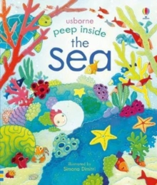 Peep Inside The Sea, Board book Book