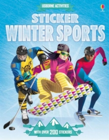 Sticker Dressing Winter Sports, Paperback / softback Book
