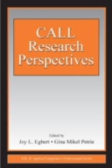 CALL Research Perspectives, PDF eBook