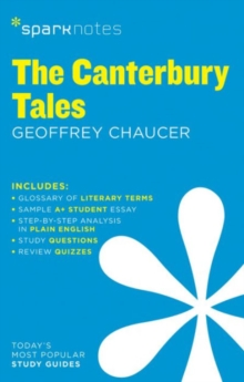 The Canterbury Tales SparkNotes Literature Guide, Paperback Book