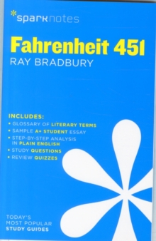 Fahrenheit 451 SparkNotes Literature Guide, Paperback / softback Book