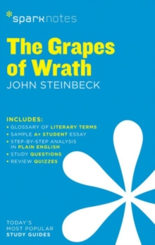 The Grapes of Wrath SparkNotes Literature Guide, Paperback / softback Book