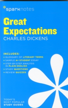 Great Expectations SparkNotes Literature Guide, Paperback Book