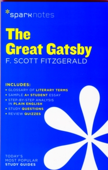 The Great Gatsby SparkNotes Literature Guide, Paperback / softback Book