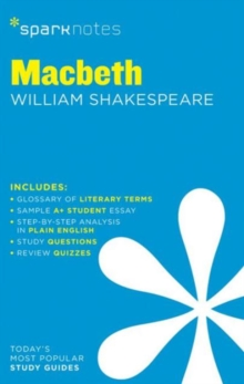 Macbeth SparkNotes Literature Guide, Paperback / softback Book
