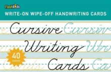 Cursive Writing Cards : Learning Cards, Cards Book