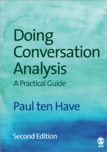 Doing Conversation Analysis, Paperback Book