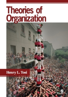Theories of Organization, Paperback Book