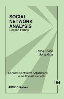 Social Network Analysis, Paperback Book