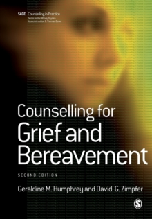 Counselling for Grief and Bereavement, Paperback / softback Book