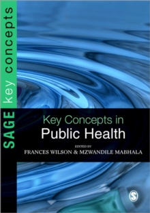 Key Concepts in Public Health, Paperback Book