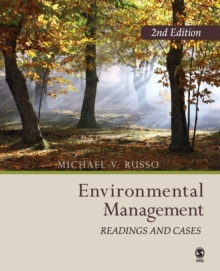 Environmental Management : Readings and  Cases, Paperback / softback Book