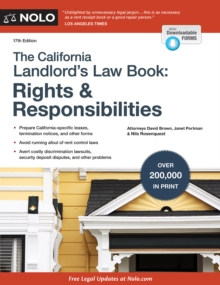 California Landlord's Law Book, The : Rights & Responsibilities, EPUB eBook