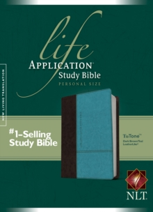 Life Application Study Bible-NLT-Personal Size, Leather / fine binding Book