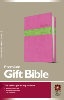 Premium Gift Bible-NLT, Leather / fine binding Book