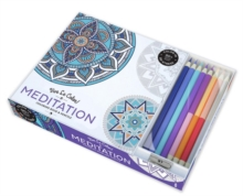 Meditation (Coloring Bk & Pencil Kits); Vive Le Color, Multiple copy pack Book