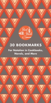"Short Stack 30 Bookmarks : ""For Notation in Cookbooks, Novels, and More"", Paperback Book"