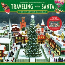 Traveling with Santa Pop-up Advent Calendar, Calendar Book