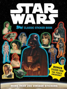Star Wars Topps Classic Sticker Book, Paperback / softback Book