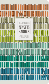 Read Harder (A Reading Log): Track Books, Chart Progress, Notebook / blank book Book