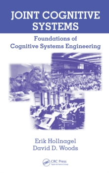 Joint Cognitive Systems : Foundations of Cognitive Systems Engineering, PDF eBook