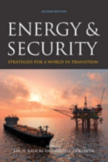 Energy and Security : Strategies for a World in Transition, Paperback / softback Book