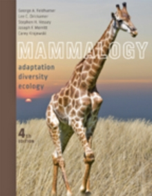 Mammalogy : Adaptation, Diversity, Ecology, Hardback Book