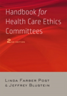 Handbook for Health Care Ethics Committees, Paperback / softback Book