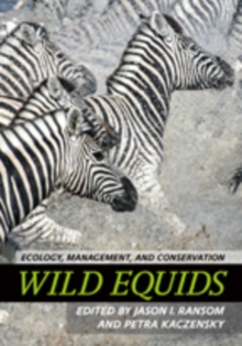 Wild Equids : Ecology, Management, and Conservation, Hardback Book