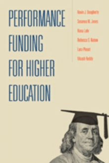 Performance Funding for Higher Education, Paperback Book