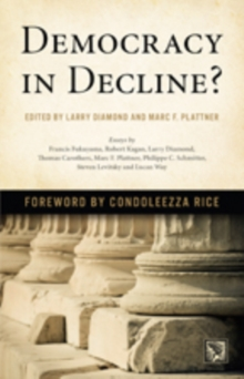 Democracy in Decline?, Paperback Book
