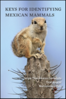 Keys for Identifying Mexican Mammals, Paperback Book