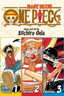 One Piece:  East Blue 1-2-3, Vol. 1 (Omnibus Edition), Paperback Book