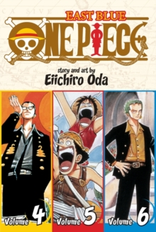 One Piece (Omnibus Edition), Vol. 2 : Includes vols. 4, 5 & 6, Paperback / softback Book