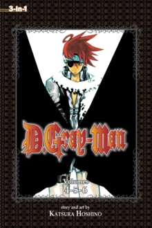 D.Gray-man (3-in-1 Edition), Vol. 2 : Includes vols. 4, 5 & 6, Paperback / softback Book