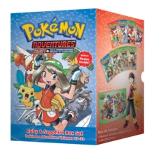 Pokemon Adventures Ruby & Sapphire Box Set : Includes Volumes 15-22, Paperback / softback Book