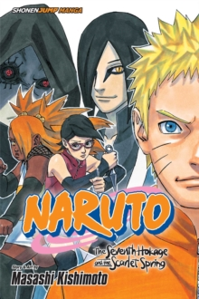 Naruto: The Seventh Hokage and the Scarlet Spring, Paperback / softback Book