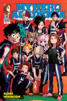 My Hero Academia, Vol. 4, Paperback Book