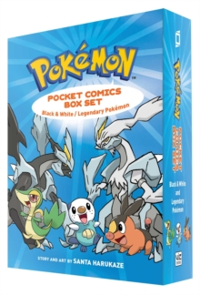 Pokemon Pocket Comics Box Set : Black & White / Legendary Pokemon, Paperback Book