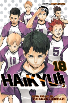 Haikyu!!, Vol. 18, Paperback Book