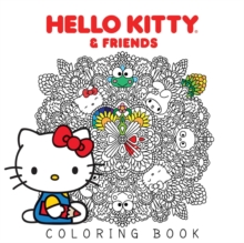 Hello Kitty & Friends Coloring Book, Paperback Book