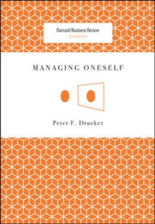 Managing Oneself, Paperback / softback Book