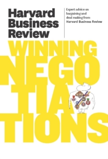 Harvard Business Review on Winning Negotiations, EPUB eBook