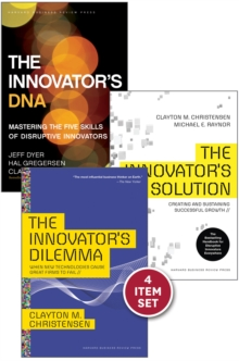 "Disruptive Innovation: The Christensen Collection (The Innovator's Dilemma, The Innovator's Solution, The Innovator's DNA, and Harvard Business Review article ""How Will You Measure Your Life?"") (4 Ite, EPUB eBook"