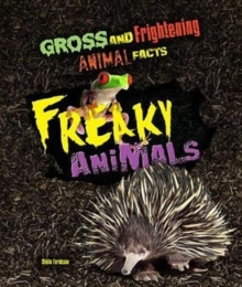 Freaky Animals, Hardback Book