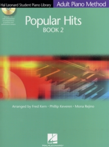Hal Leonard Student Piano Library Adult Piano Method : Popular Hits Book 2 (Book/Online Audio), Paperback Book