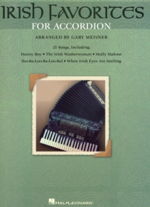 Irish Favorites For Accordion, Paperback Book