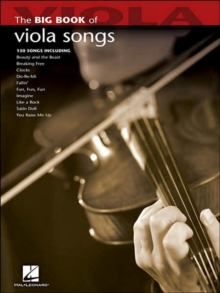 Big Book Of Viola Songs, Paperback / softback Book