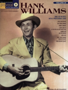 Pro Vocal Vol.39 : Hank Williams (Men's Edition), Paperback Book