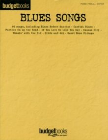 Budgetbooks : Blues Songs, Paperback / softback Book